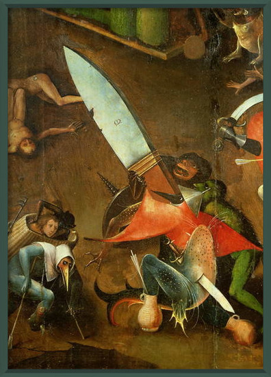 The Last Judgement : Detail of the Dagger Taidejuliste