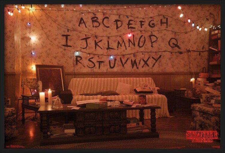 Juliste Stranger Things - Alphabet