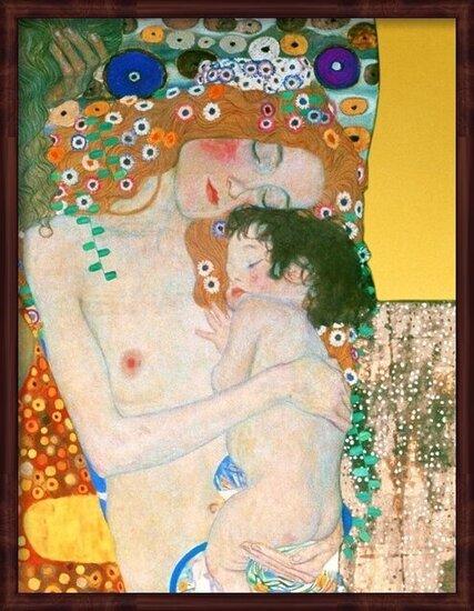 Gustav Klimt - Le Tre Eta Della Vita Taidejuliste