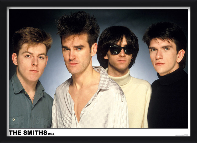 Juliste  The Smiths 1984