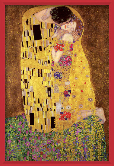 Juliste  Gustav Klimt – kiss