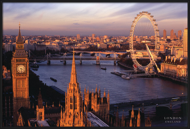 Juliste  Lontoo - England