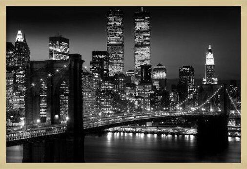 Juliste Manhattan - night