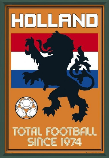 Juliste Holland - total football
