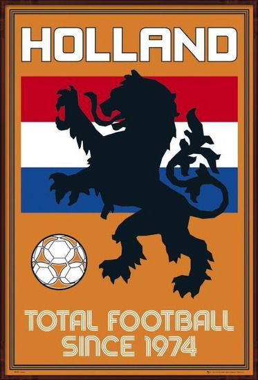Juliste Holland - total football