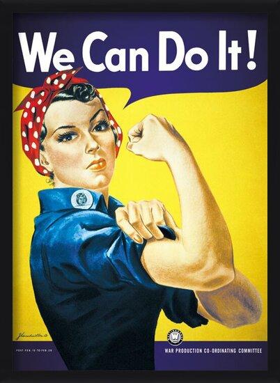 Juliste We can do it !