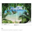 Beach Tropical Paradise Boat