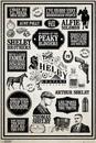 Peaky Blinders - Infographic